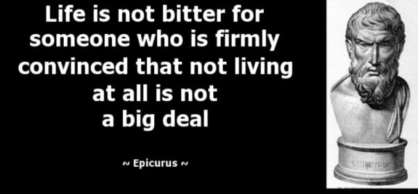 Epicurus: Geniet, maar drink met mate