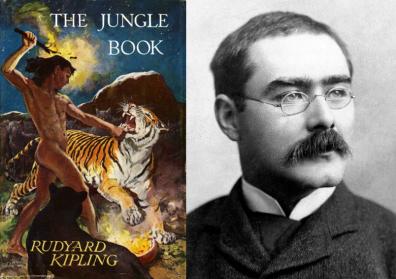 Rudyard Kipling, auteur van Jungle Book