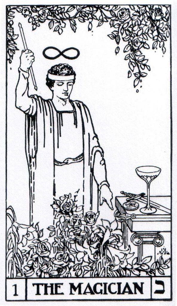 De Magier in het bota tarot deck